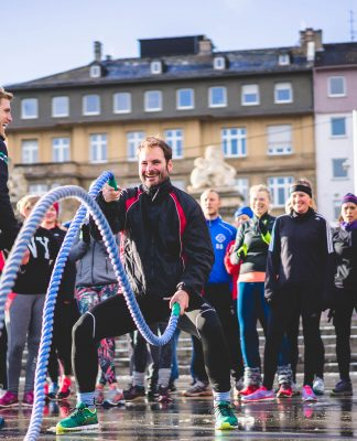 "Bootcamp ""Kickstart"" Fitness Events in 36 deutschen Städten"